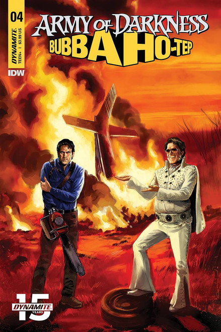 Dynamite Entertainment Army of Darkness Vs. Bubba Hotep #4 Comic Book