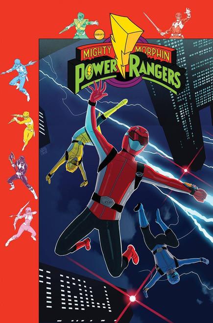 Boom Studios Mighty Morphin Power Rangers #39 Beyond The Grid Comic Book [Jordan Gibson Variant Cover]