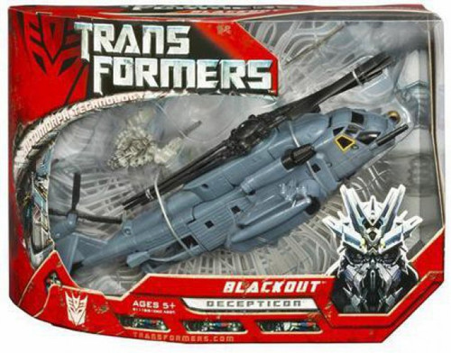 Transformers Movie Blackout Voyager Action Figure