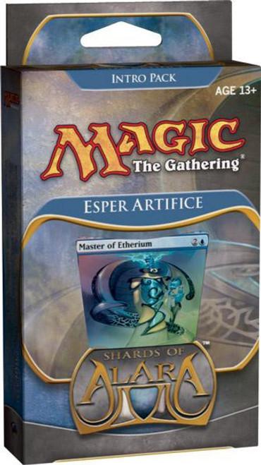 MtG Trading Card Game Shards of Alara Esper Artifice Intro Pack
