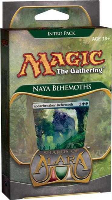 MtG Trading Card Game Shards of Alara Naya Behemoths Intro Pack