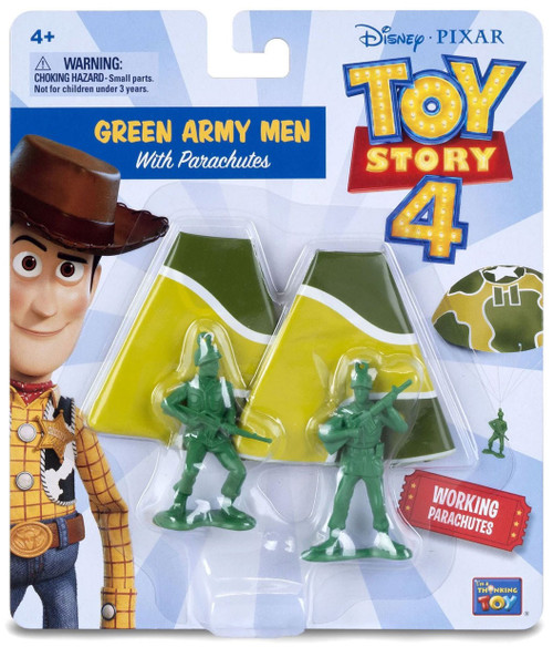 Toy Story 4 Green Army Men with Parachutes Figure 2-Pack