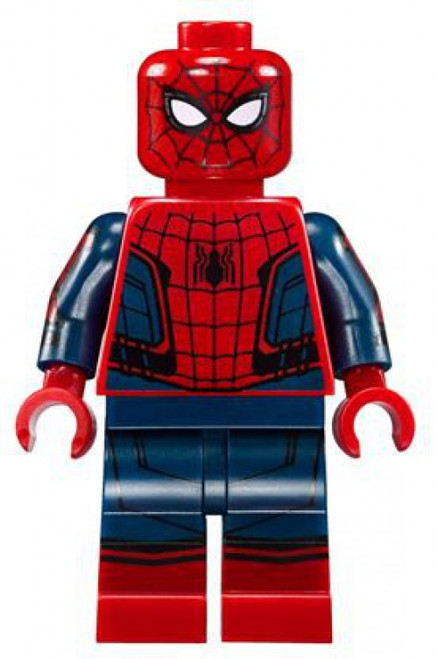 LEGO Marvel Super Heroes Spider-Man Homecoming Spider-Man Minifigure [No Accessories Loose]