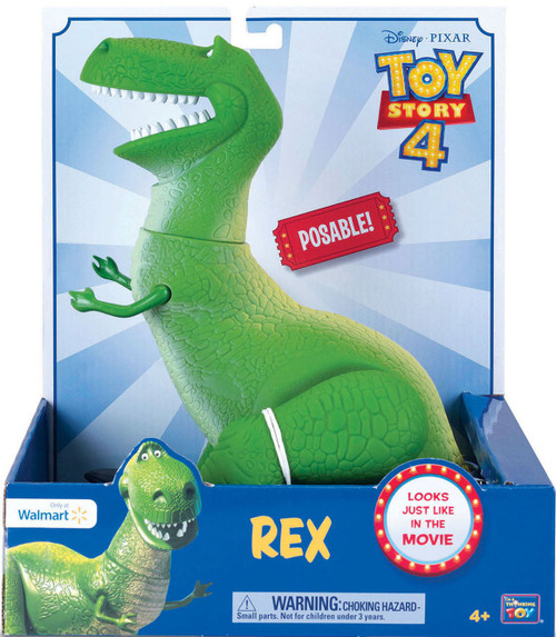 Disney / Pixar Toy Story 4 Rex Action Figure