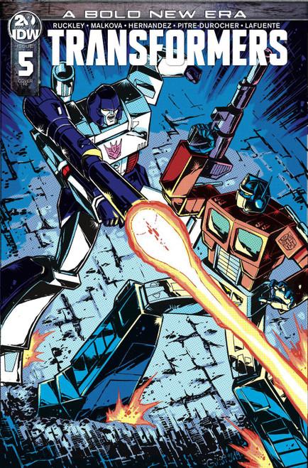 IDW Transformers #5 Comic Book [Guido Guidi Variant Cover]