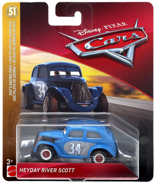 Disney / Pixar Cars Cars 3 Doc's Racing Days Heyday River Scott Diecast Car