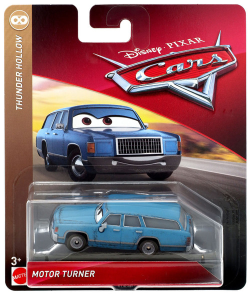 Disney / Pixar Cars Cars 3 Thunder Hollow Motor Turner Diecast Car