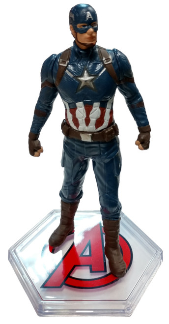Disney Marvel Avengers Endgame Captain America 4-Inch PVC Figure [Loose]