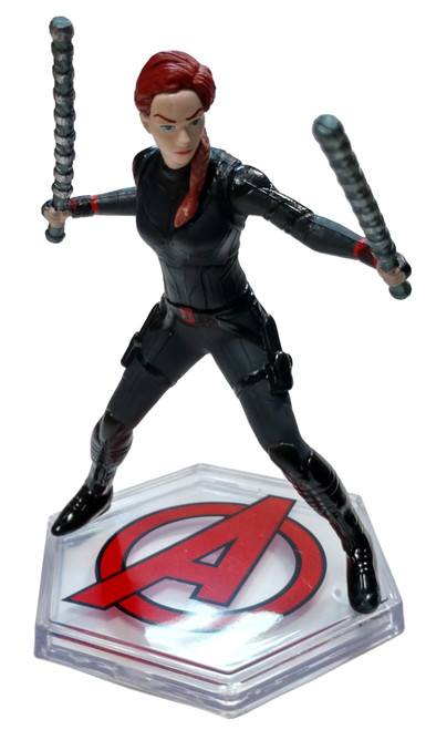 Disney Marvel Avengers Endgame Black Widow 3.5-Inch PVC Figure [Loose]
