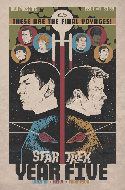 IDW Star Trek Year Five #1 Comic Book [J.J. Lendl Variant Cover]
