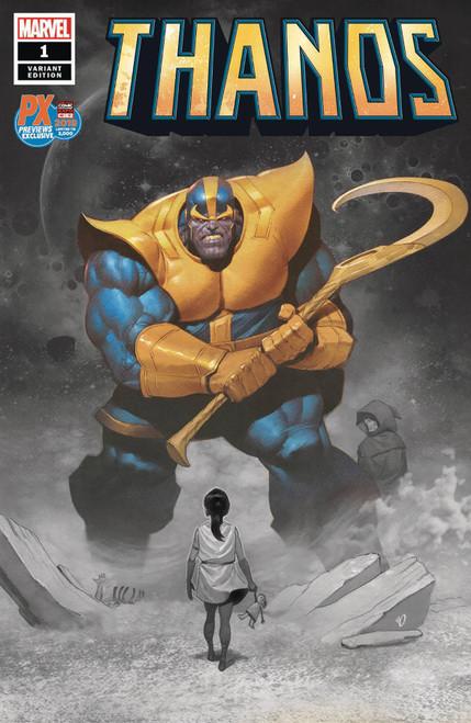 Marvel Comics Thanos #1 Comic Book [C2E2 Jeff Dekal Variant Cover]