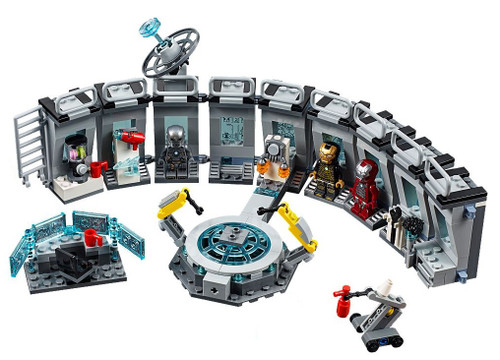 LEGO Marvel Super Heroes Avengers Endgame Iron Man lab [Without Minifigures Loose]