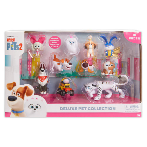 The Secret Life of Pets 2 Deluxe Pet Collection 2-Inch Figure 10-Pack