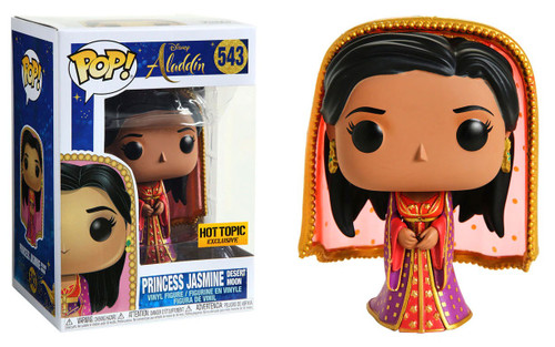 Funko Aladdin 2019 POP! Disney Princess Jasmine Exclusive Vinyl Figure #543 [Desert Moon]