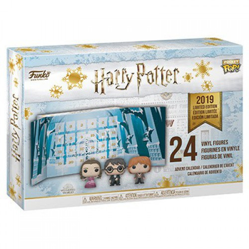 Funko Pocket POP! Harry Potter Advent Calendar [24 Mini Vinyl Figures, 2019]