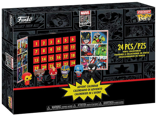 Funko Pocket POP! Marvel Advent Calendar [24 Mini Vinyl Figures, 2019]