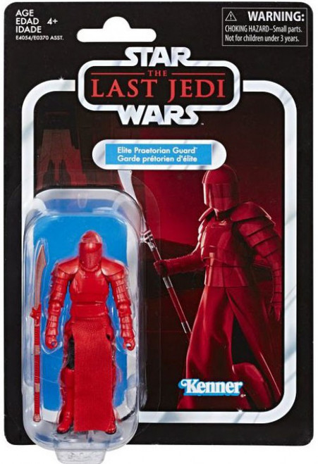 Star Wars The Last Jedi Vintage Collection Wave 22 Elite Praetorian Guard Action Figure