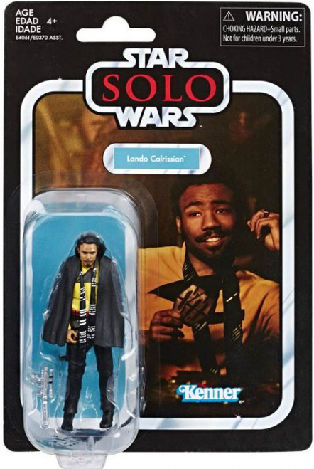 Star Wars Solo Vintage Collection Wave 22 Lando Calrissian Action Figure [Young]