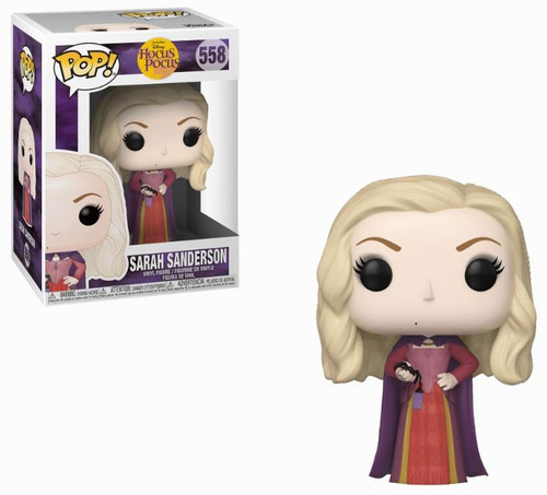 Funko Hocus Pocus POP! Disney Sarah Sanderson Vinyl Figure #558 [with Spider]