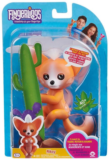 Fingerlings Baby Fox Mikey Figure