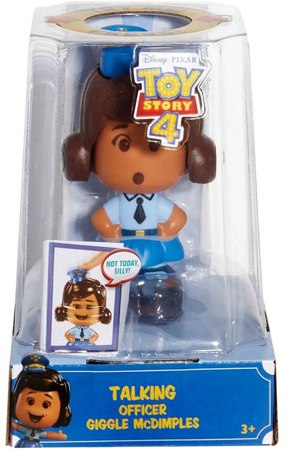 Toy Story 4 Talking Officer Giggle McDimples Figure