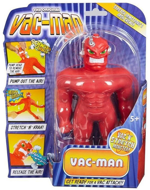 The Original Stretch Armstrong Mini Vac-Man Action Figure