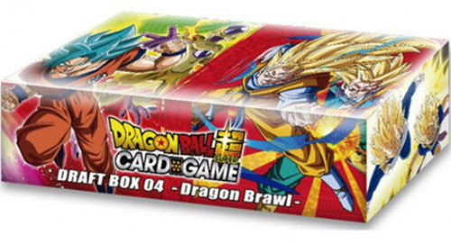 Dragon Ball Super Collectible Card Game Draft Box 04 Dragon Brawl Booster Box [24 Packs]