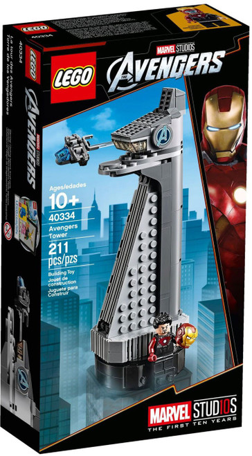 LEGO Marvel Super Heroes Avengers Tower Set #40334