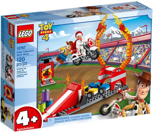 LEGO Juniors Toy Story 4 Duke Caboom's Stunt Show Set #10767