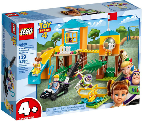 LEGO Juniors Toy Story 4 Buzz & Bo Peep's Playground Adventure Set #10768