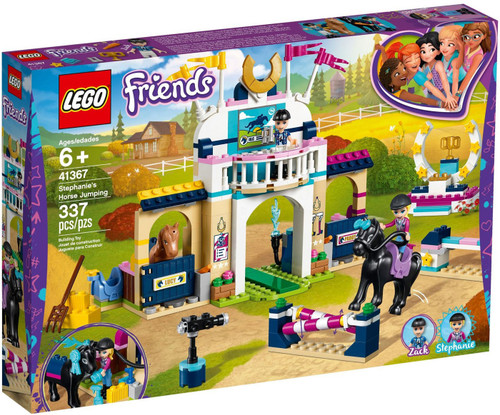 LEGO Friends Stephanie's Horse Jumping Set #41367