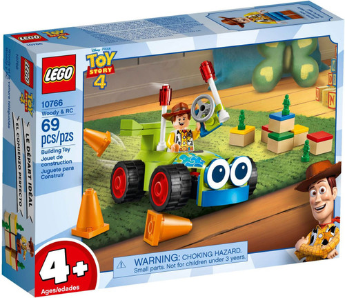 LEGO Juniors Toy Story 4 Woody & RC Set