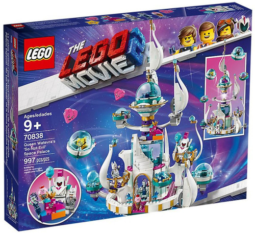 The LEGO Movie 2 Queen Watevra's 'So-Not-Evil' Space Palace Set #70838