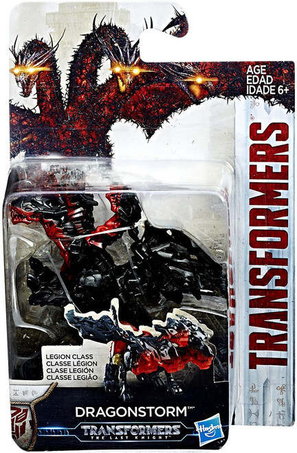 Transformers The Last Knight Dragonstorm Legion Action Figure [Damaged Package]
