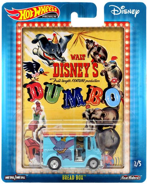 Disney Hot Wheels Premium Bread Box Die Cast Car #2/5 [Dumbo]