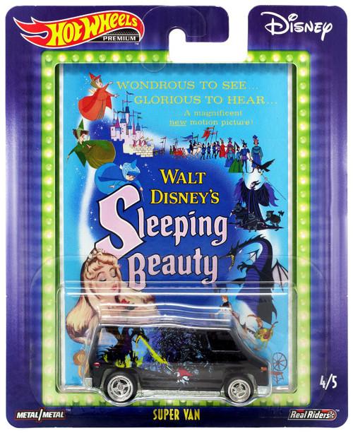 Disney Hot Wheels Premium Super Van Die Cast Car #4/5 [Sleeping Beauty]