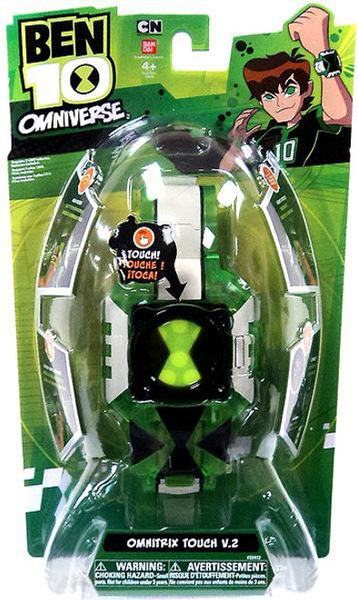 Ben 10 Omniverse Watch Omnitrix Touch V.2 Roleplay Toy [Version 2, Damaged Package]