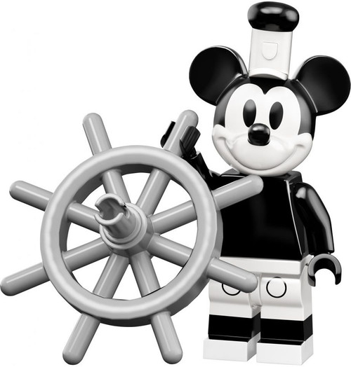 LEGO Minifigures Disney Mystery Series 2 Vintage Mickey Mouse Minifigure [Steamboat Willie Loose]