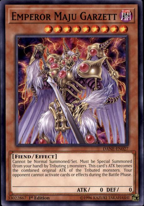YuGiOh Dark Neostorm Common Emperor Maju Garzett DANE-EN027