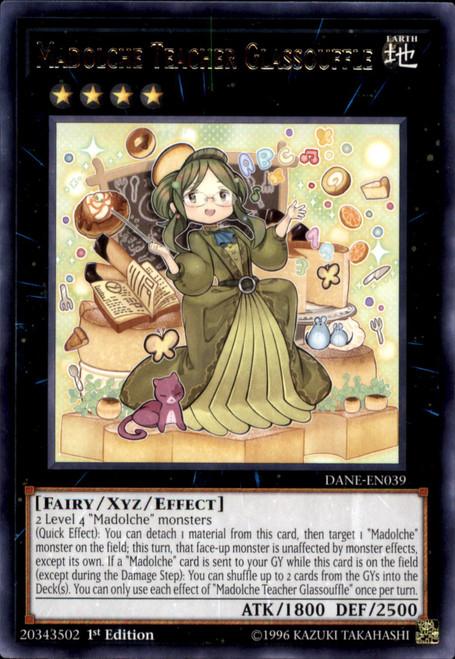 YuGiOh Dark Neostorm Rare Madolche Teacher Glassouffle DANE-EN039
