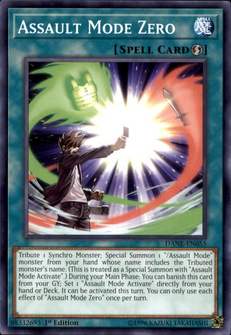 YuGiOh Dark Neostorm Common Assault Mode Zero DANE-EN055