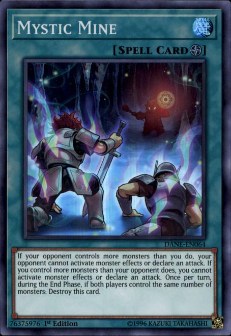 YuGiOh Dark Neostorm Super Rare Mystic Mine DANE-EN064