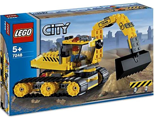 LEGO City Digger Set #7248 [Damaged Package]