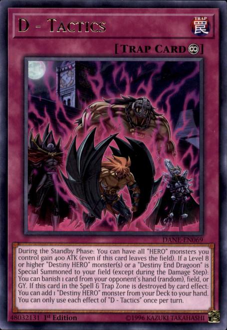 YuGiOh Dark Neostorm Rare D - Tactics DANE-EN069