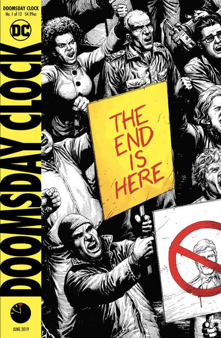 DC Doomsday Clock #1 Comic Book [Final Printing]