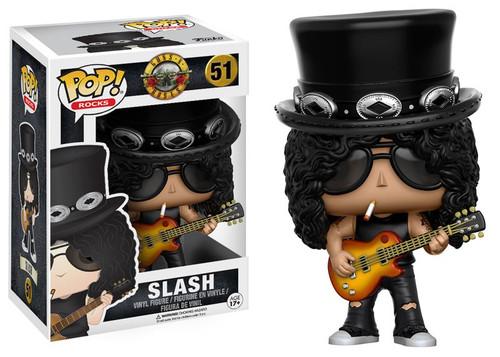 Funko Guns N Roses POP! Rocks Slash Vinyl Figure #51 [Damaged Package]