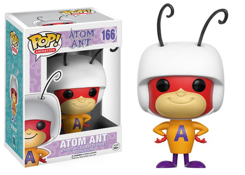 Funko Hanna-Barbera POP! TV Atom Ant Vinyl Figure #166 [Damaged Package]