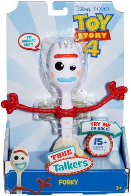 Toy Story 4 True Talkers Forky Action Figure
