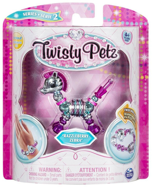 Twisty Petz Series 2 Razzleberry Zebra Bracelet