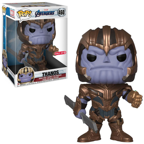 Funko Avengers Endgame POP! Marvel Thanos Exclusive 10-Inch Vinyl Bobble Head [Super-Sized, Endgame]